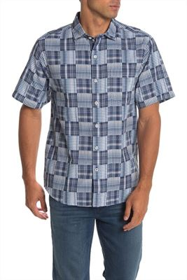 Tommy Bahama Patchwork in Paradise Short Sleeve Shirt